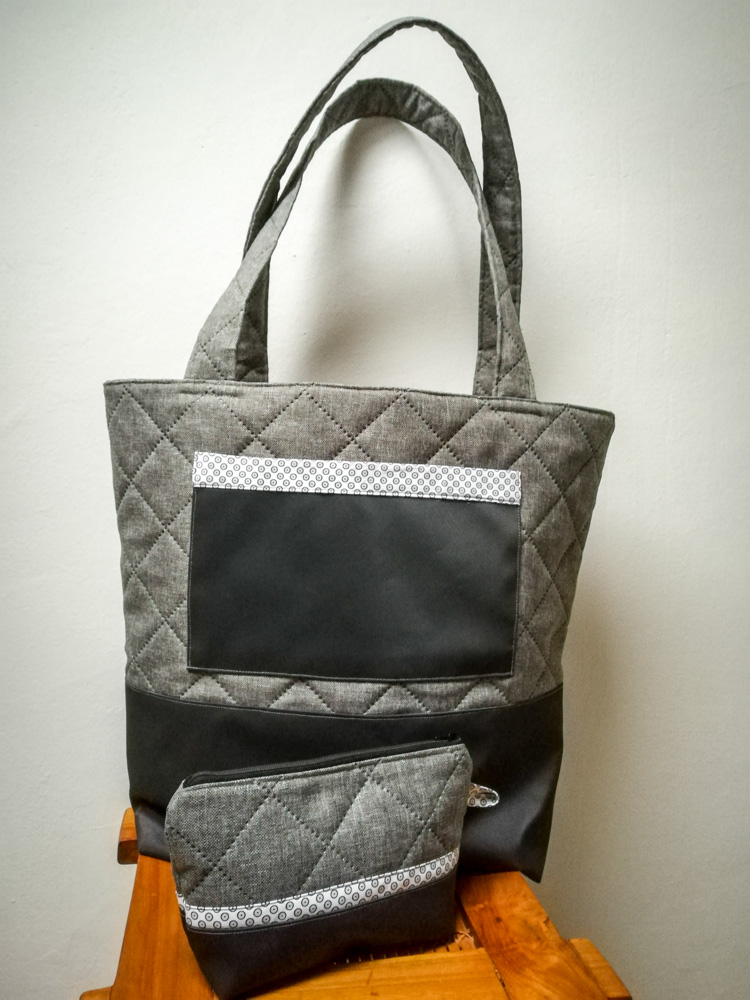 Big Shopper Einkaufstasche mit kleiner Tasche